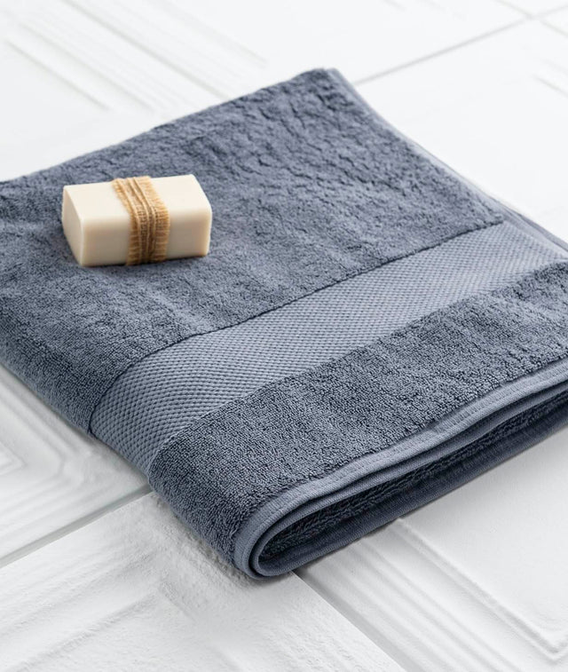 Bhumi Organic Cotton - Bath Towel - Granite Blue