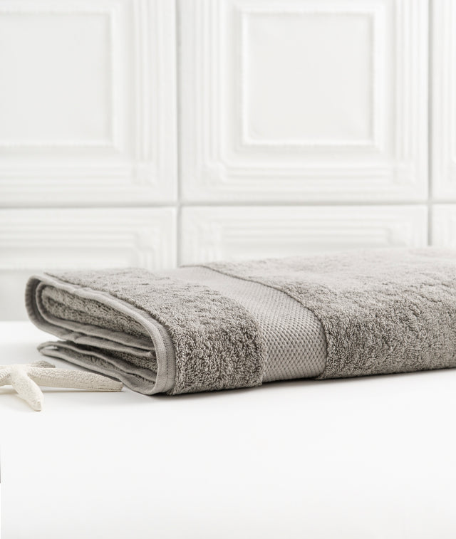 Bhumi Organic Cotton - Bath Sheet  - Grey