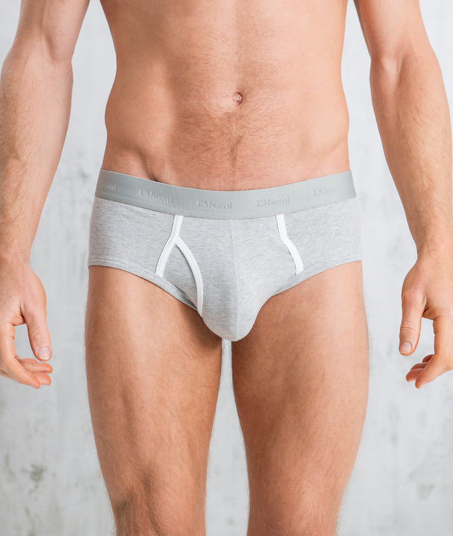 Bhumi Organic Cotton - Briefs (2 Pack) - Grey