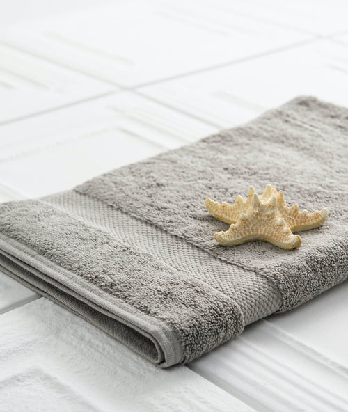 Bhumi Organic Cotton - Hand Towel - Grey