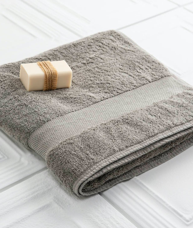 Bhumi Organic Cotton - Bath Towel - Grey