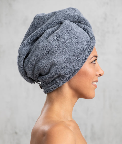 Bhumi Organic Cotton - Head Wrap - Granite Blue