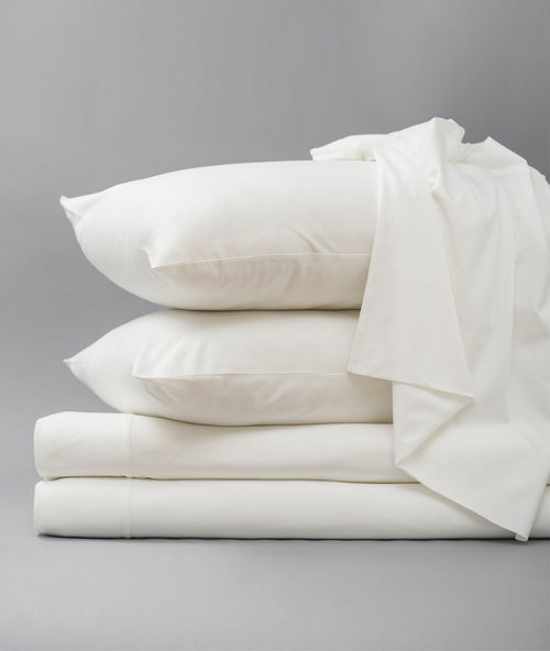 Bhumi Organic Cotton - Jersey Sheet Set - White