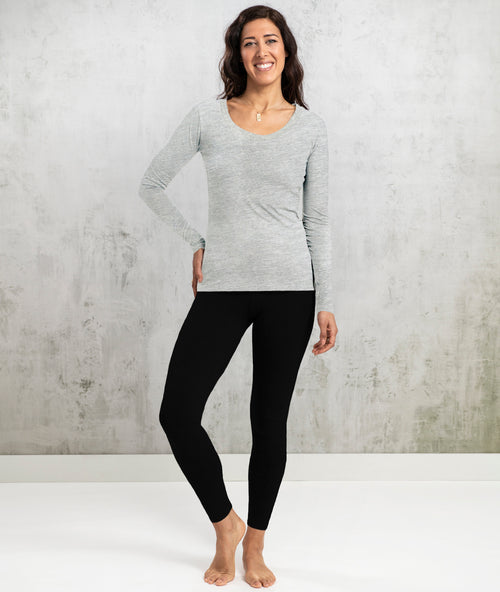 Bhumi Organic Cotton - Long Sleeve Tee - Grey