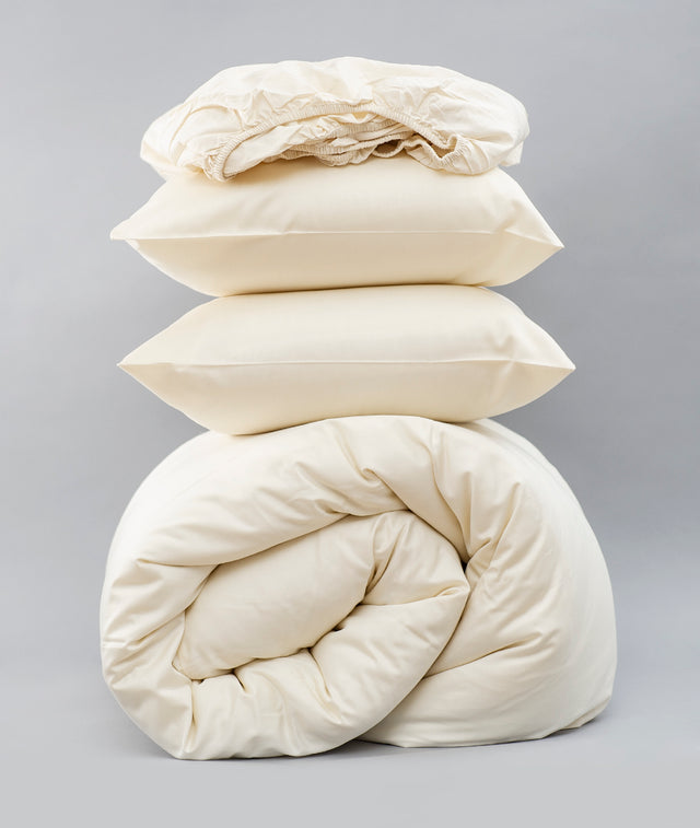 Bhumi Organic Cotton - Sateen Essentials Bundle - Natural