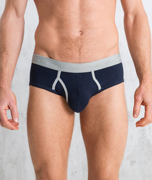 Bhumi Organic Cotton - Briefs (2 Pack) - Navy