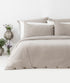 Bhumi Organic Cotton - Flannel Pillow Cases (pair) - Light Grey