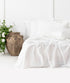 Bhumi Organic Cotton- Sateen Sheet Set - White