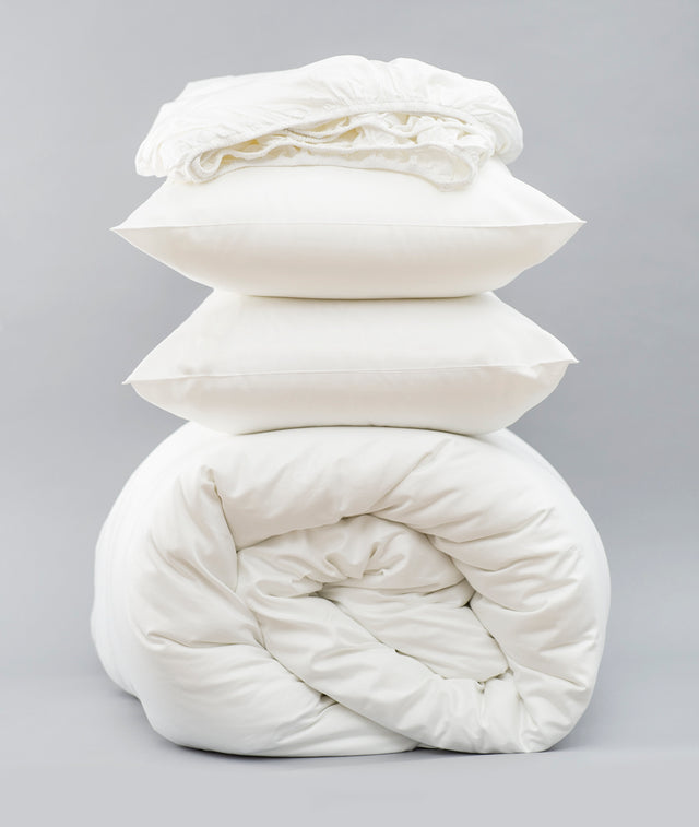 Bhumi Organic Cotton - Sateen Essentials Bundle - White