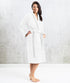 Bhumi Organic Cotton - Spa Robe - WhiteBhumi Organic Cotton - Spa Robe - White