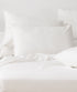 Bhumi Organic Cotton - Fitted - Sateen Sheet - White