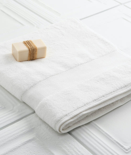 Bhumi Organic Cotton - Bath Towel - White