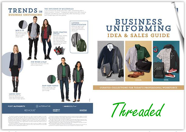 Threaded - Embroidered Business Uniforms