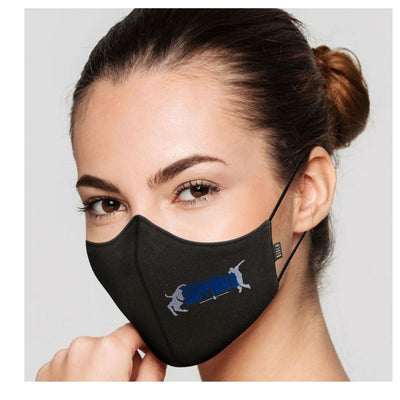 Bloch B-Safe Mask with Sapphires Logo