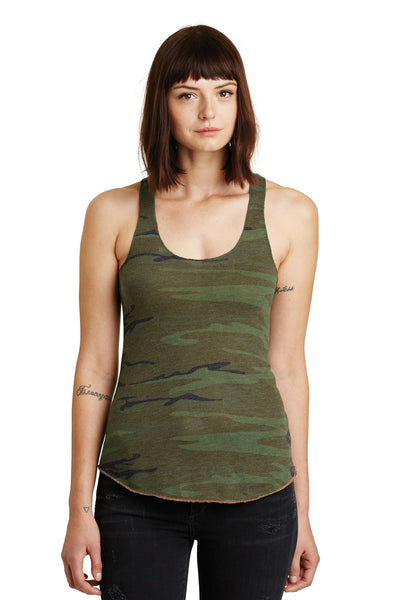 Alternative Women's Meegs Eco-Jersey™ Racer Tank. AA1927