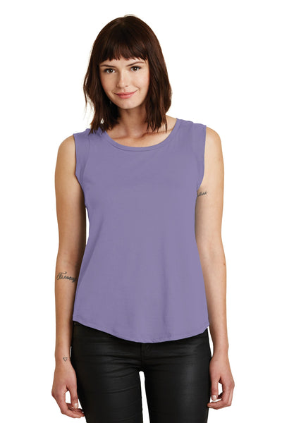 Alternative Women's Cap Sleeve Satin Jersey Crew T-Shirt. AA4013