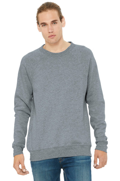 BELLA+CANVAS ® Unisex Sponge Fleece Raglan Sweatshirt. BC3901