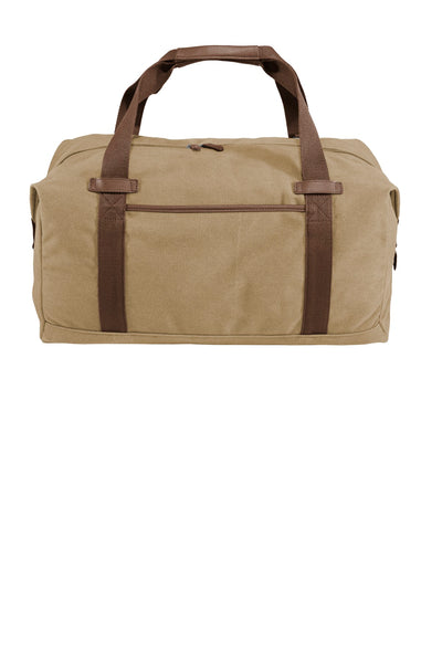 Port Authority ® Cotton Canvas Duffel. BG803