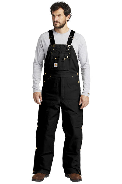 6d294adc46 Quick View · Carhartt ® Duck Quilt-Lined Zip-To-Thigh Bib Overalls.