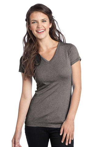 District® Juniors Tri-Blend V-Neck Tee. DT242V