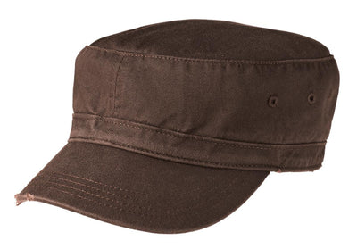 District® Distressed Military Hat.  DT605