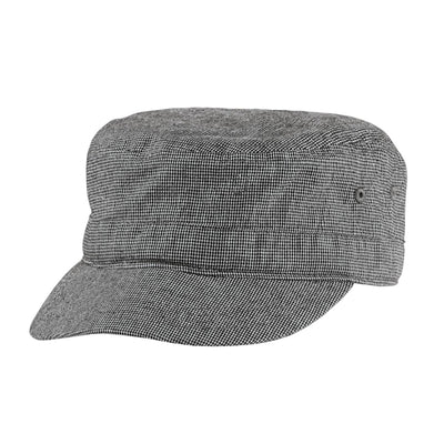District® Houndstooth Military Hat DT619