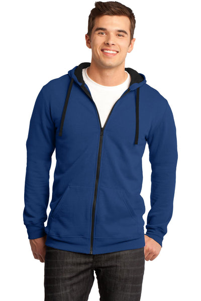 District® The Concert Fleece® Full-Zip Hoodie. DT800
