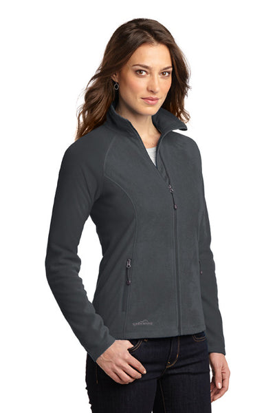 Three Letter Monogram Eddie Bauer® Ladies Full-Zip Microfleece Jacket EB225