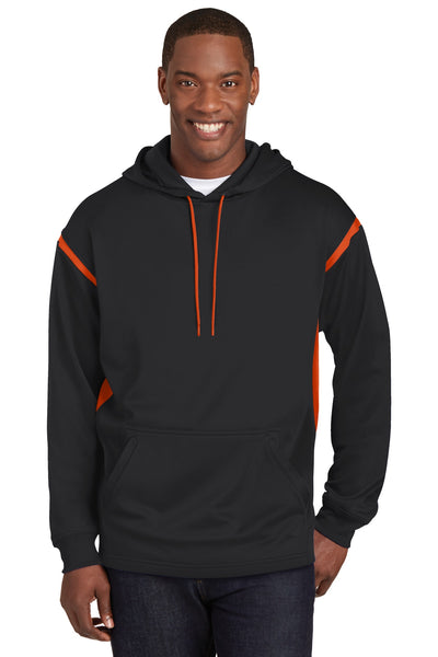 Sport-Tek® Tech Fleece Colorblock Hooded Sweatshirt. F246