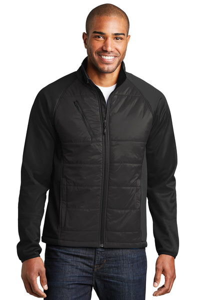 Port Authority® Hybrid Soft Shell Jacket. J787