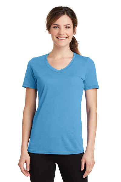 Port & Company® Ladies Performance Blend V-Neck Tee. LPC381V