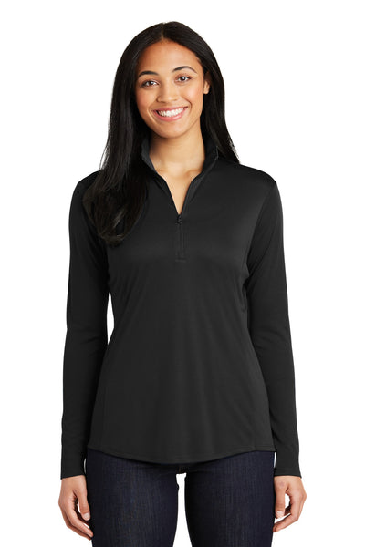 Ladies AABD 1/4-Zip Pullover. LST357