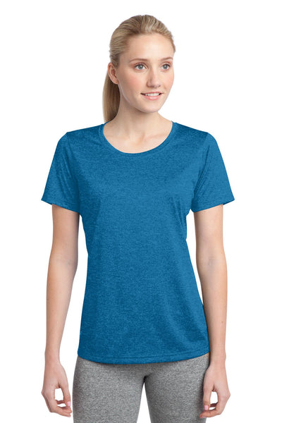 Sport-Tek® Ladies Heather Contender™ Scoop Neck Tee. LST360