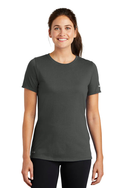 Nike Ladies Dri-FIT Cotton/Poly Scoop Neck Tee. NKBQ5234