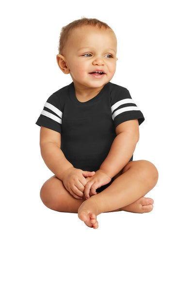 Rabbit Skins™ Infant Football Fine Jersey Bodysuit. RS4437