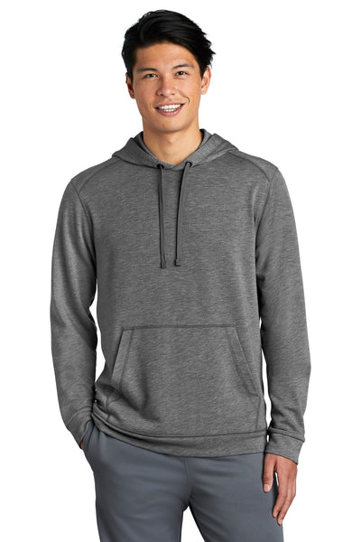 Sport-Tek ® PosiCharge ® Tri-Blend Wicking Fleece Hooded Pullover. ST296