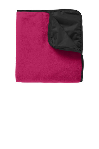 Port Authority® Fleece & Poly Travel Blanket. TB850