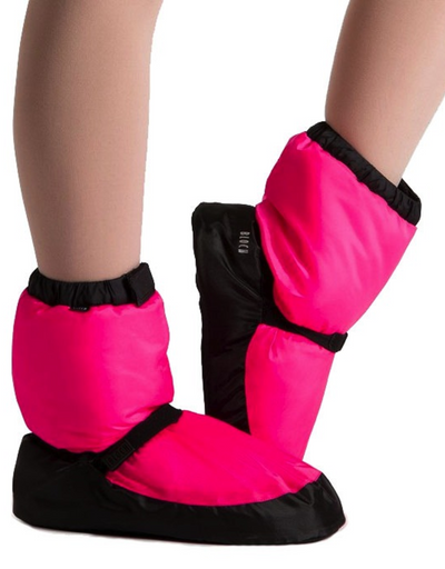 Adult Bloch Warm-Up Booties with Embroidery
