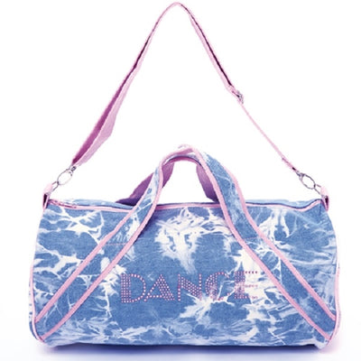 Dasha Designs Denim Duffle with Stones