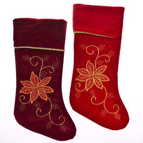 Personalize Your Christmas Stockings This Year!  Custom Embroidery