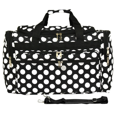 "Polka Dot 18"" Duffle Bag (DB214)"