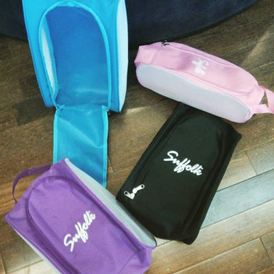 Suffolk Pointe Shoe bag with Embroidery