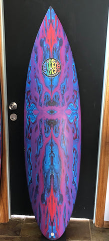 "6'1"" x 18 7/8"" x 2 3/8"". Rounded Pin"