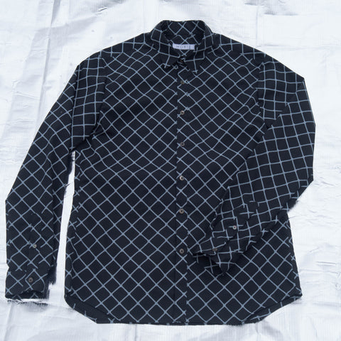 Caged L/S Button Up