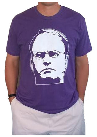 Gary Face Supersoft Purple Tee