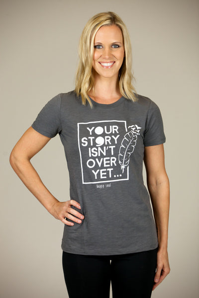 'PROJECT SEMICOLON COLLABORATION' Women's Crew Tee