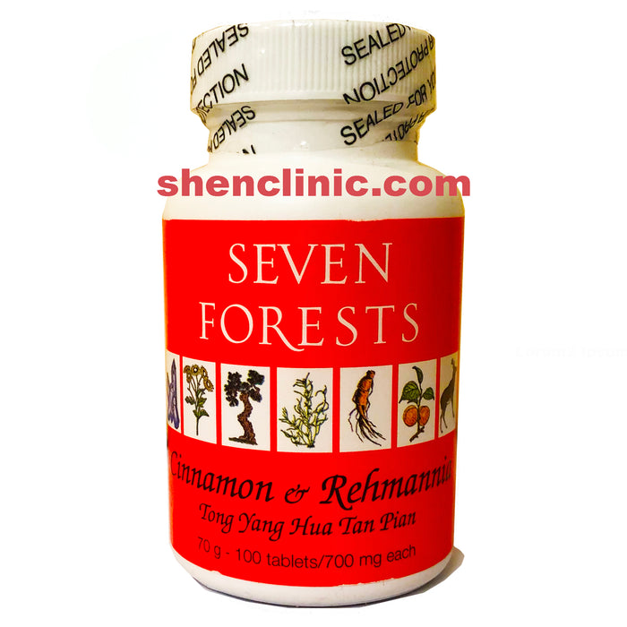 cinnamon and rehmannia - 7 forest 100 tabs