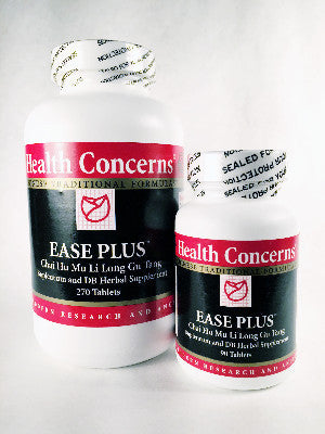 Ease Plus from Health Concerns, CHAI HU MU LI LONG GU WAN