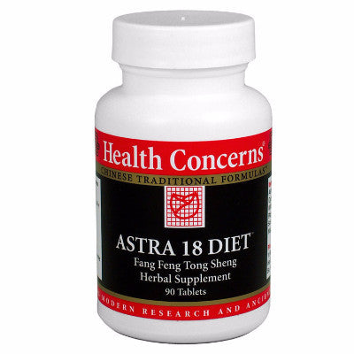 Astra 18 Diet by Health Concerns 90 tablet size