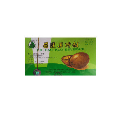 Lo Han Guo Beverage / Chinese Patent Medicine for Cough